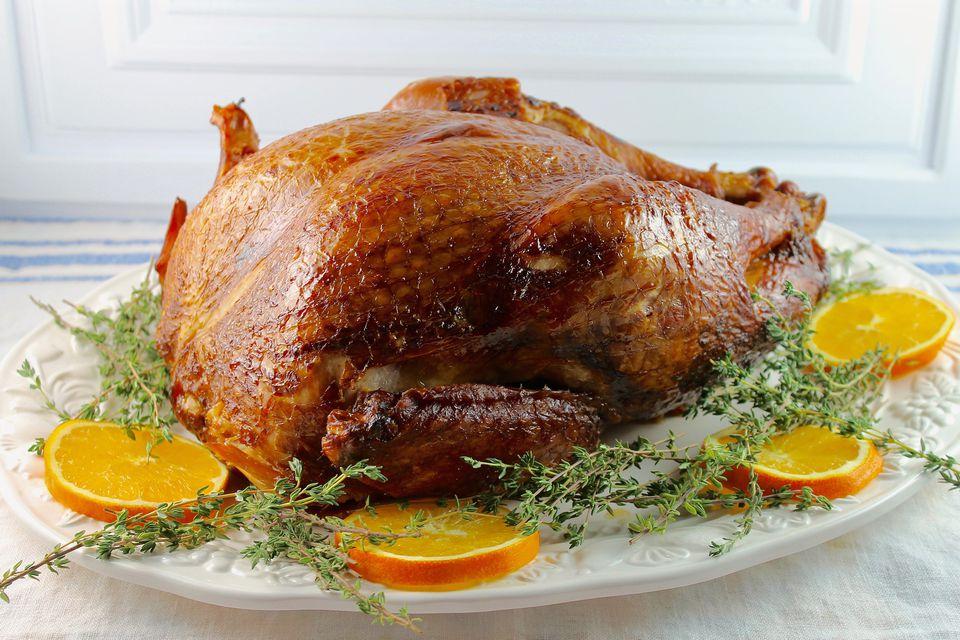 Balsamic and Honey Glazed Turkey