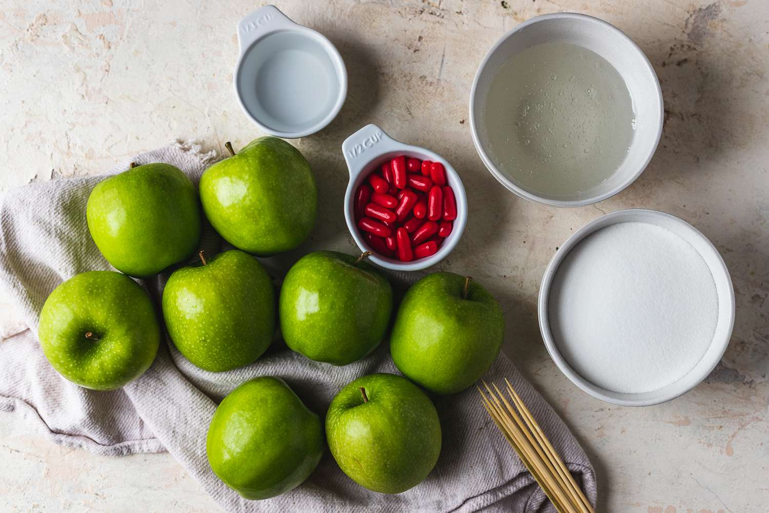 Candy Apples ingredients