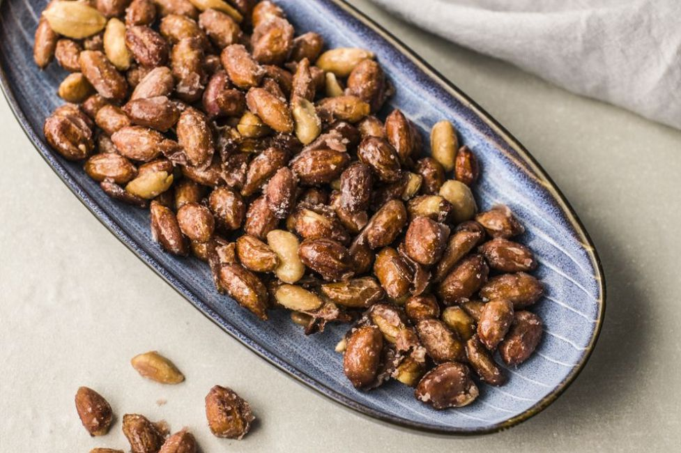 Caramelized Candied Peanuts