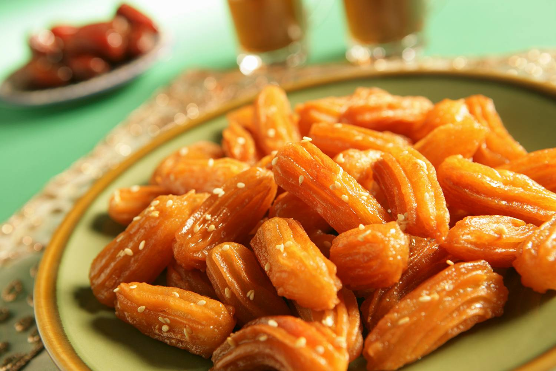 Sesame Honey Fritters