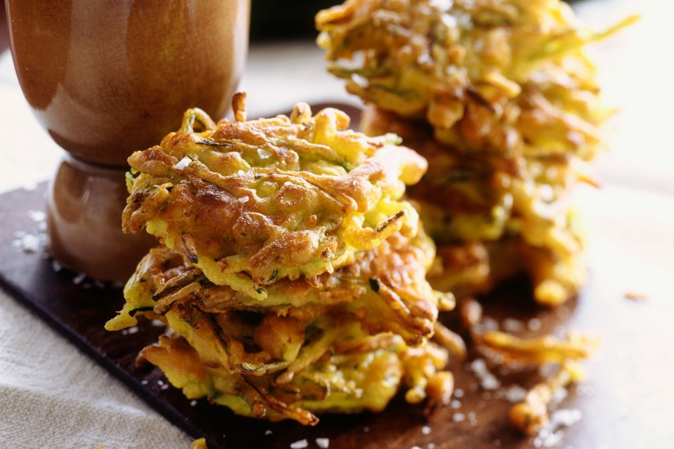Yellow Summer Squash Patties