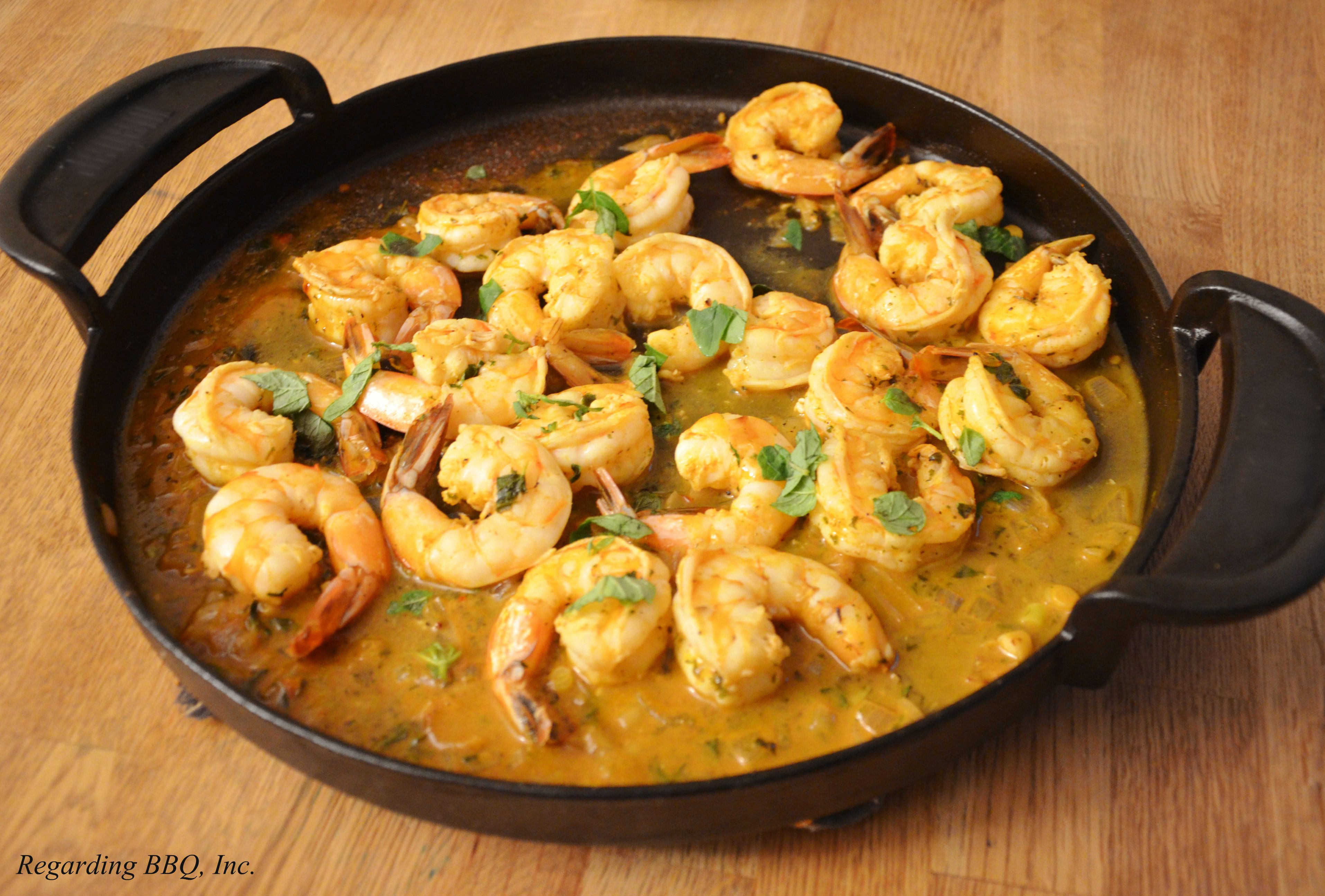 New Orleans-Style Barbeque Shrimp