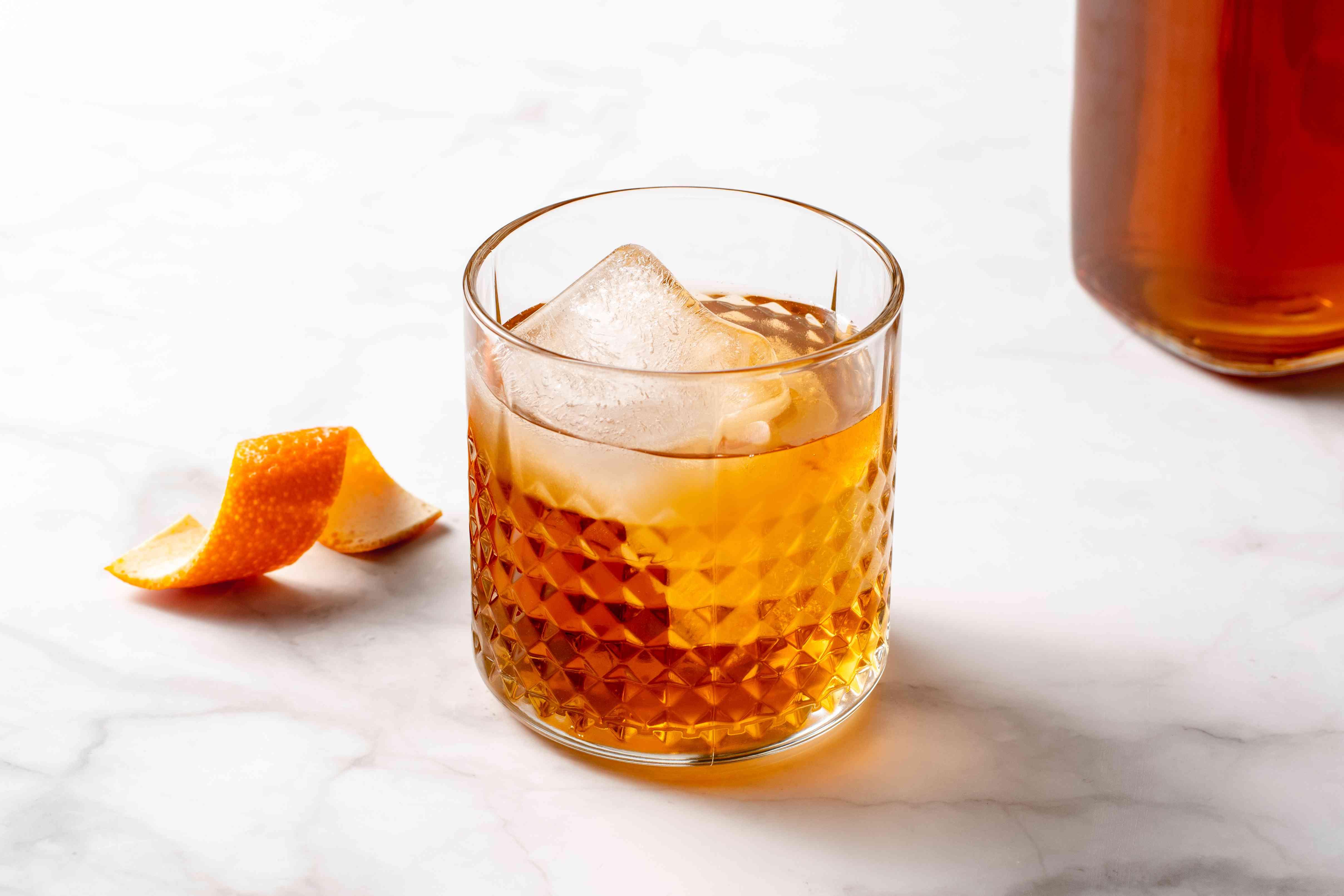 Homemade Amaretto Liqueur
