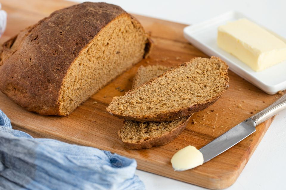 Easy Pumpernickel Bread recipe