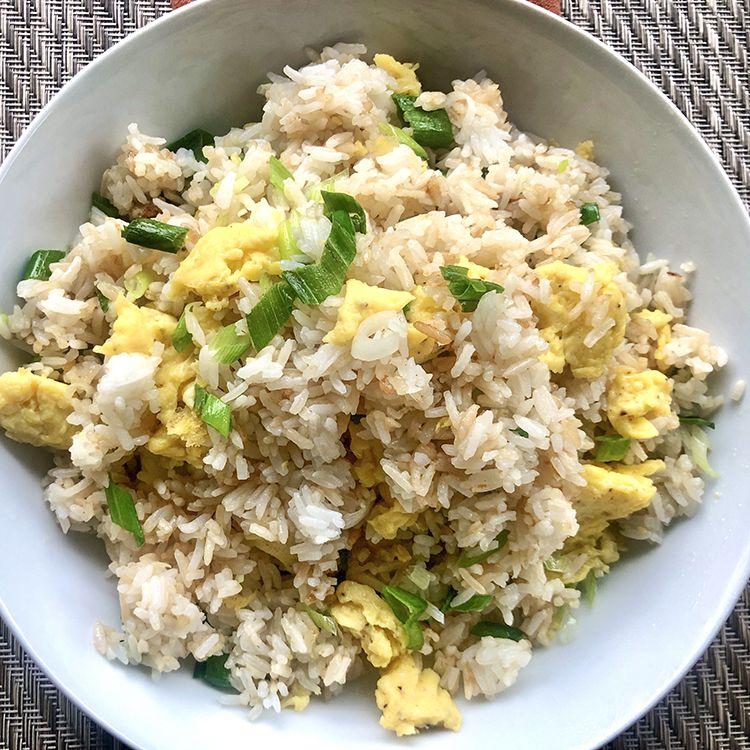 Basic Recipe for Fried Rice Tester Image