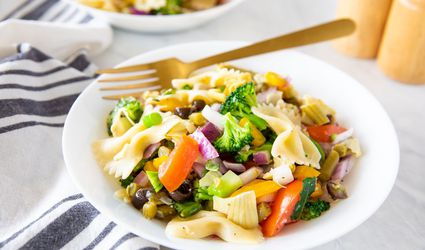 Fat-Free Vegan Pasta Salad