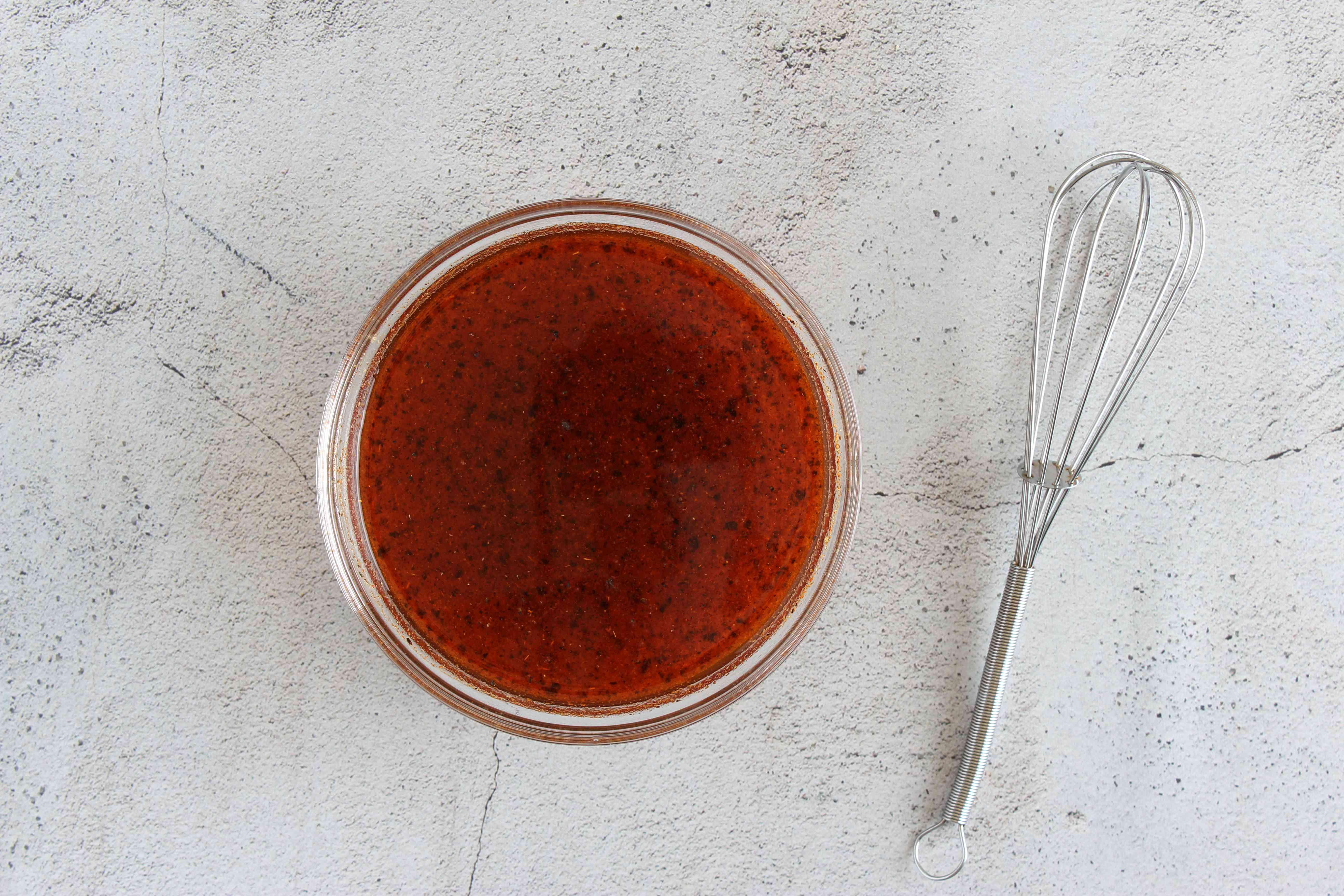 Marinade for salt and vinegar wings