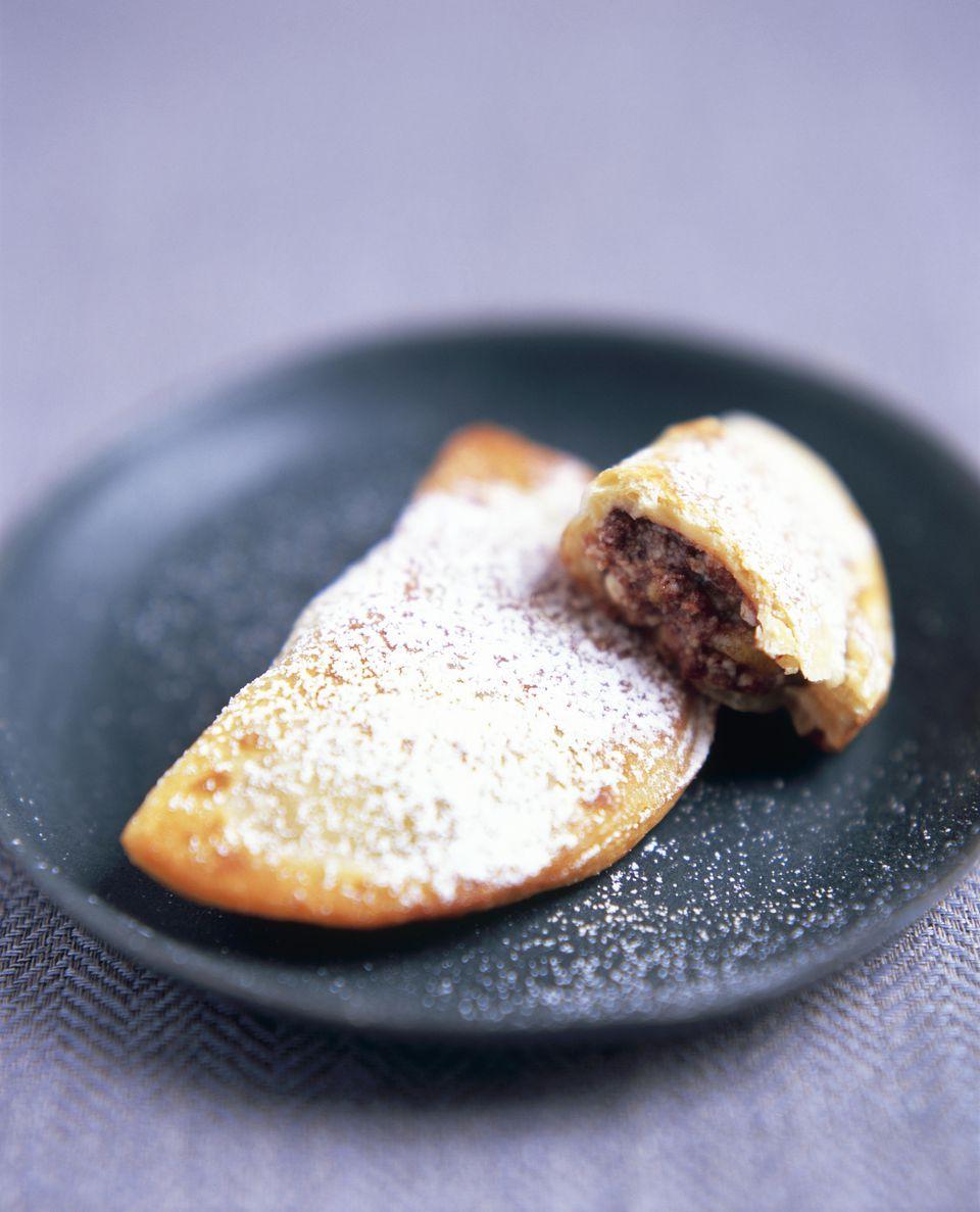 Baked Sweet Ravioli, for Carnival