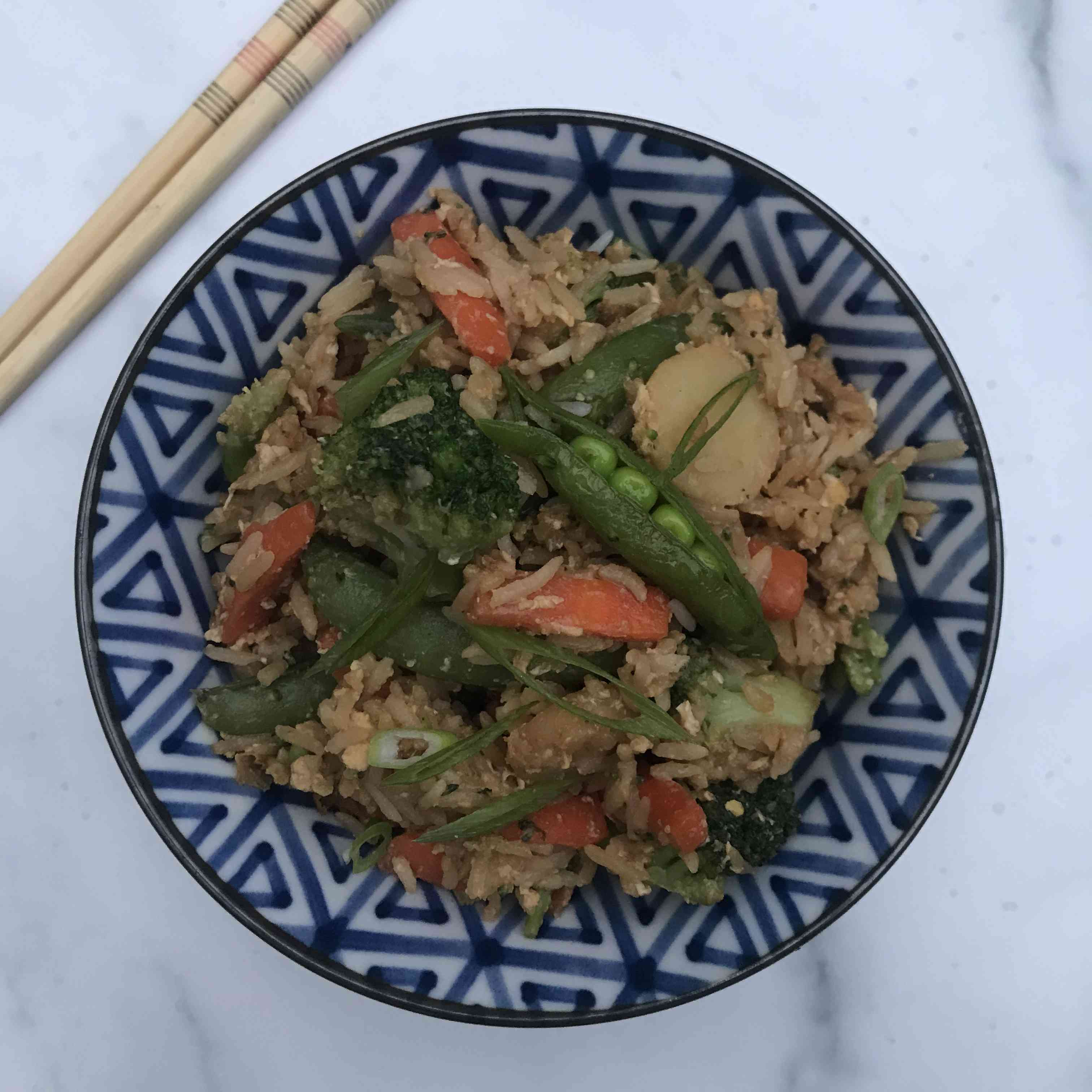 Fried Rice Recipe From Leftovers Tester Image