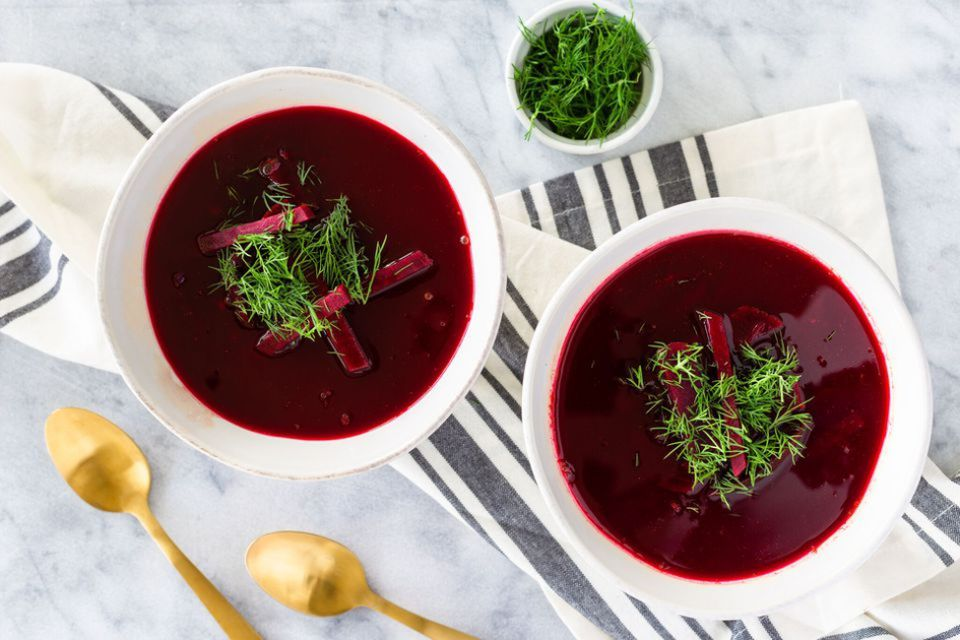 Polish Beet Soup