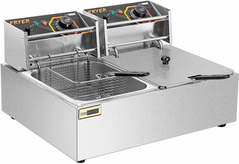 VIVOHOME Large Capacity Electric Deep Fryer