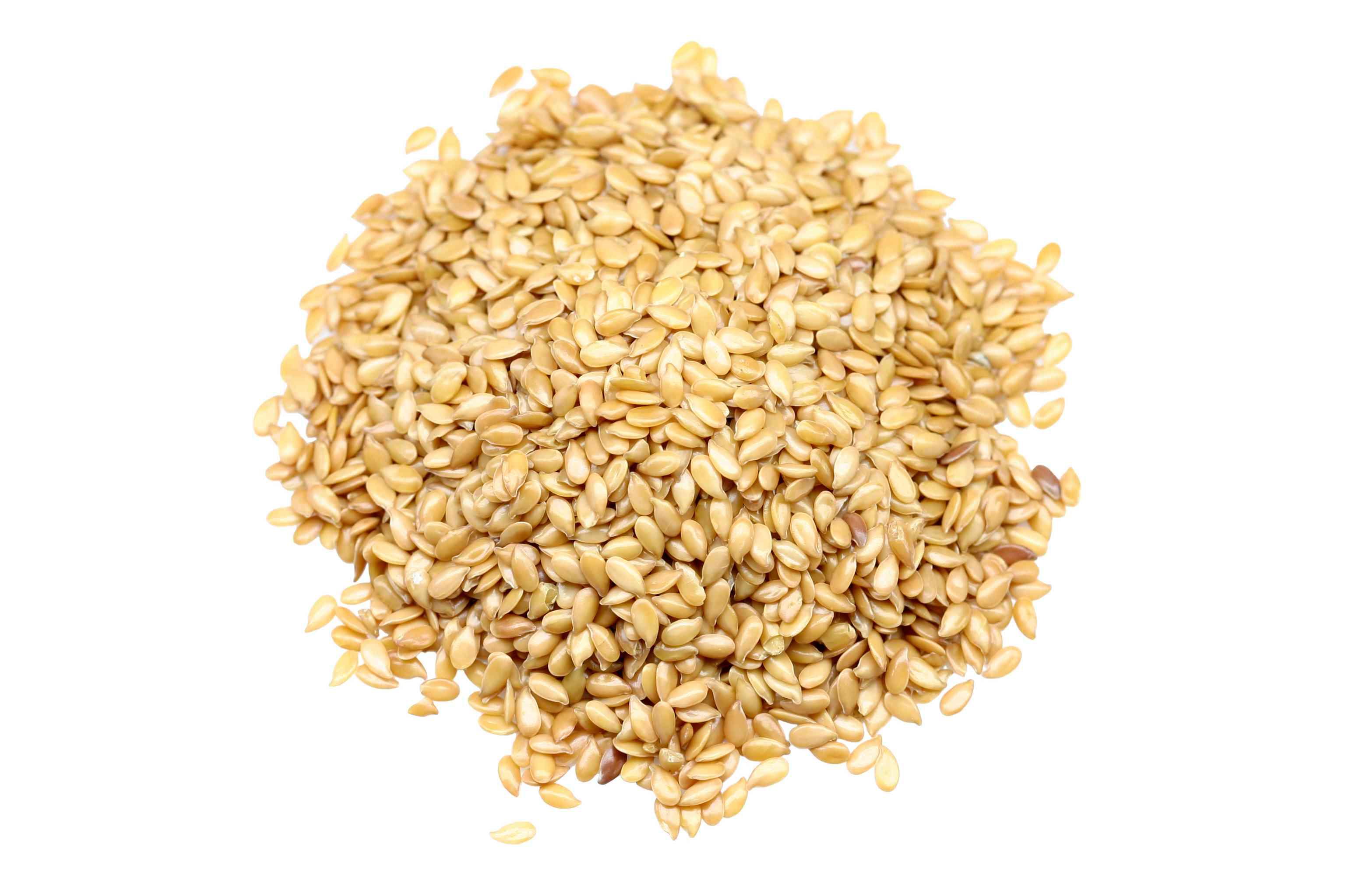 Golden flaxseeds