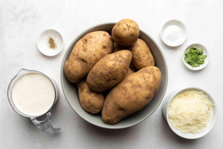 Potato Gratin (German Kartoffelgratin) ingredients