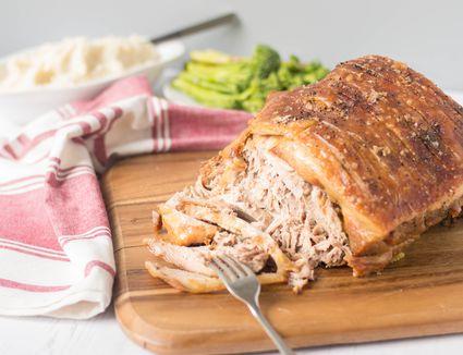 Slow Roasted Pork Picnic Shoulder