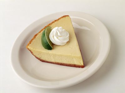 Key Lime Pie With Meringue or Cream Topping Recipe