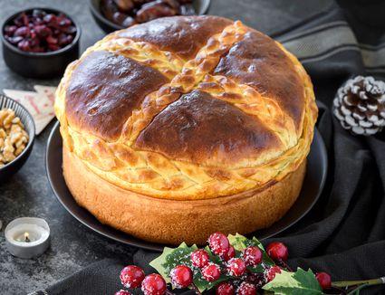 Serbian Christmas bread sweet recipe