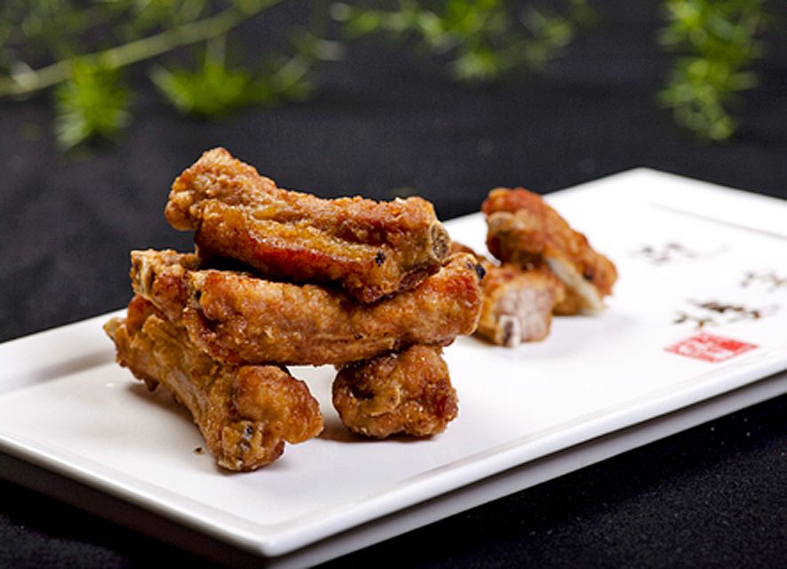 Thai Fried Ribs Finger Food Style