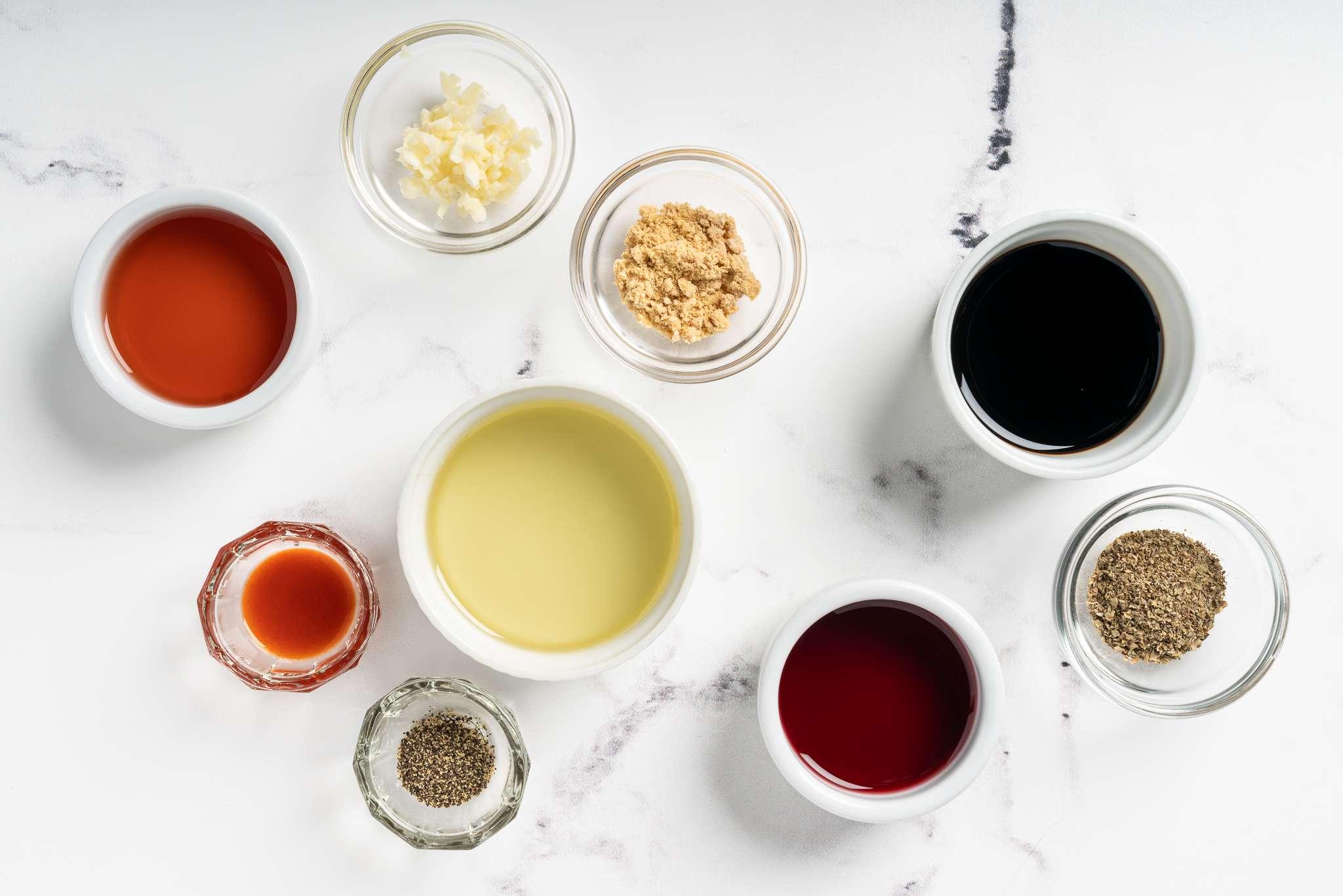 Soy Vinaigrette Salad Dressing ingredients