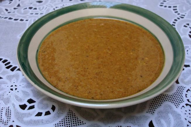 Amlou - Moroccan Dip of Toasted Almonds, Argan Oil and Honey