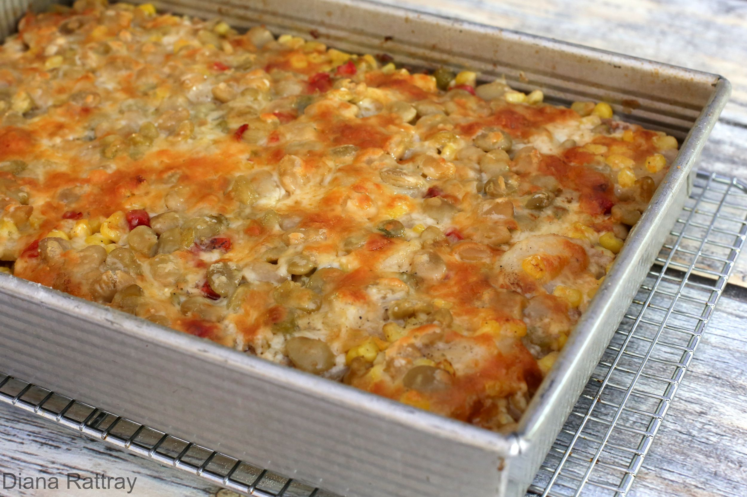 Hearty Hamburger and Potato Casserole