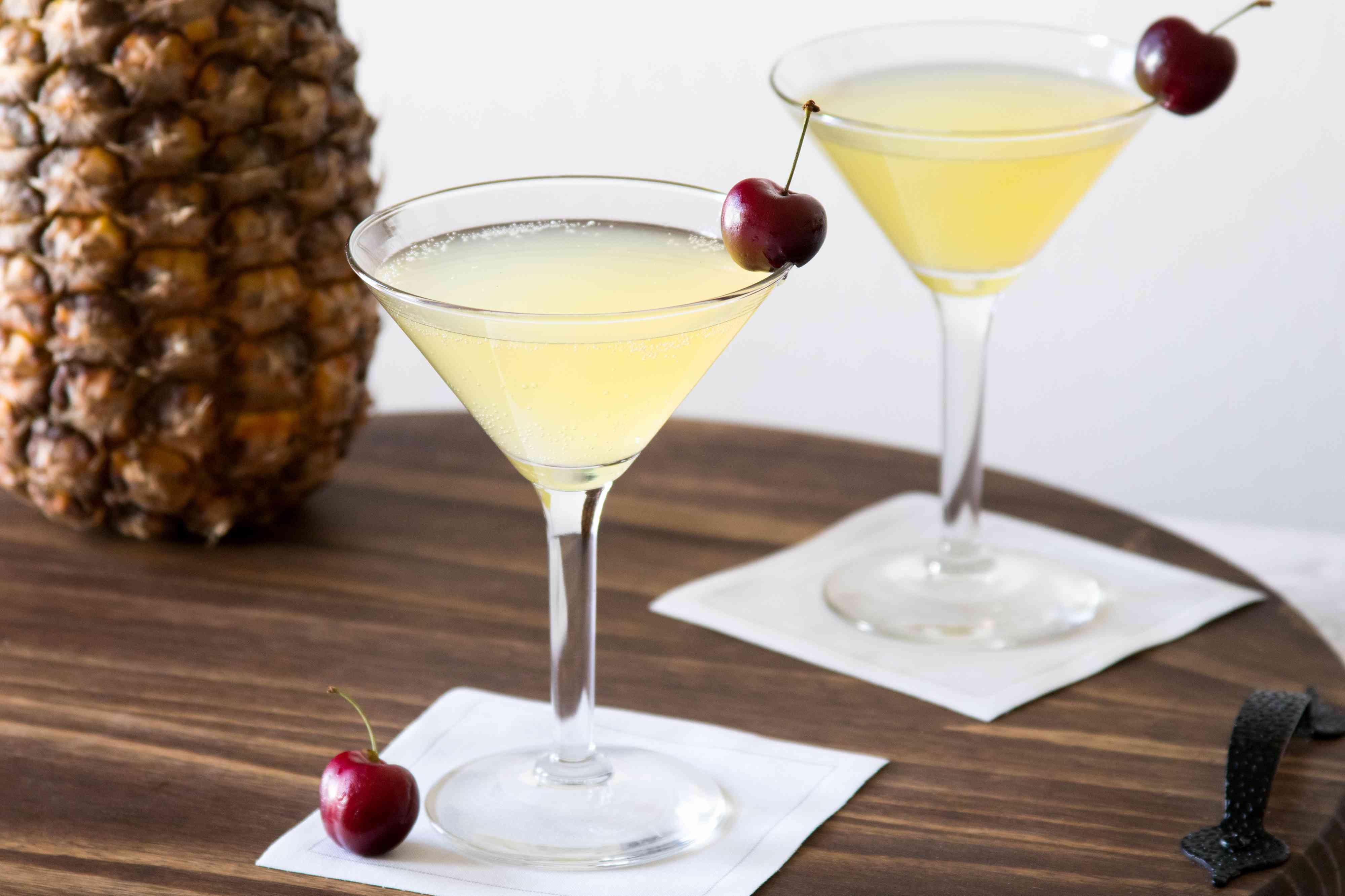 Flirtini Vodka and Pineapple Martini
