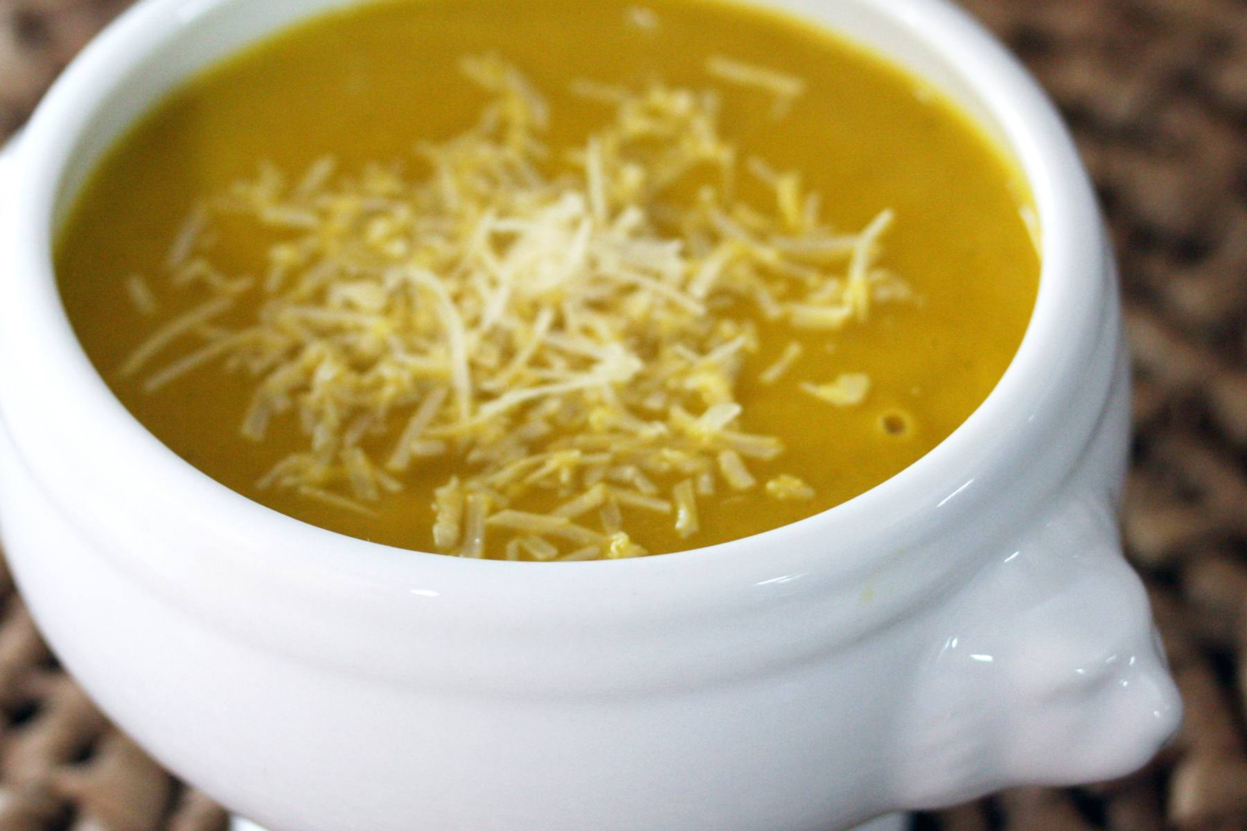 Savory Buttercup Squash Soup