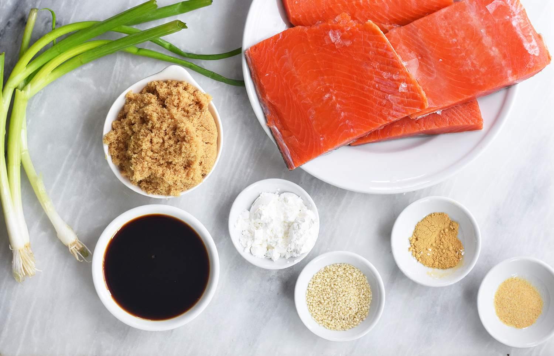Baked Salmon Teriyaki