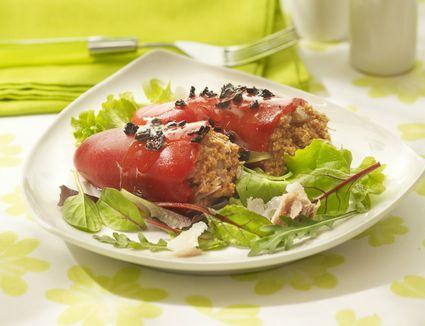 Pepper stuffed with tuna