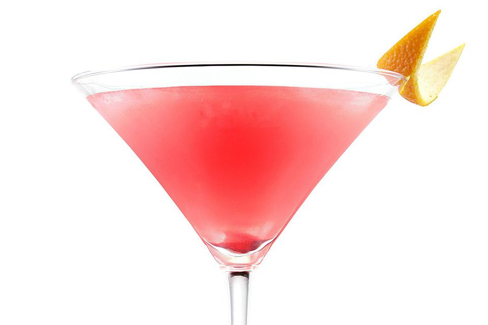 Easy Bols Watermelon Cosmo Cocktail - Vodka Martini Recipe