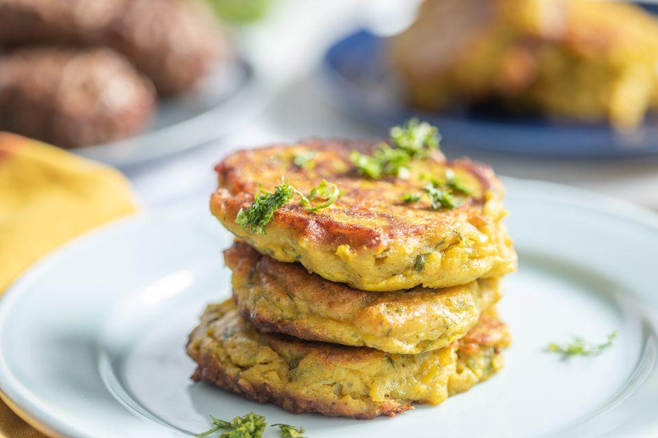 Moroccan potato pancakes maakouda batata