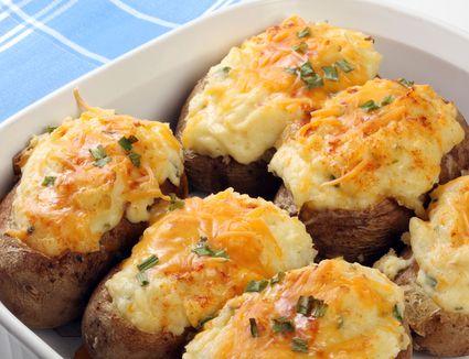 Make-Ahead Stuffed Baked Potatoes