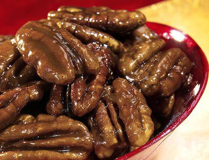 Caramel nuts