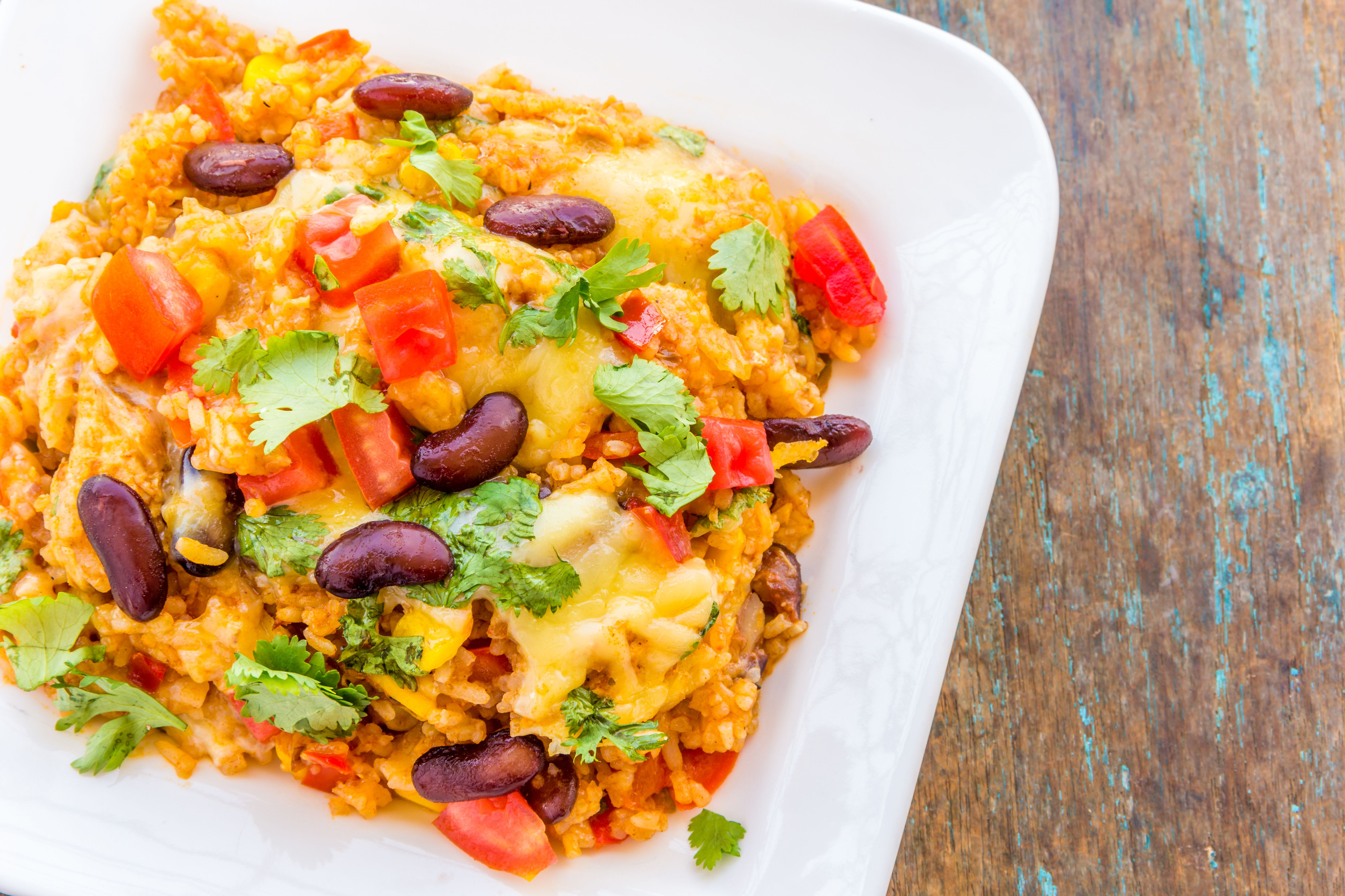 Vegetarian mexican casserole with black beans forumfinder Choice Image