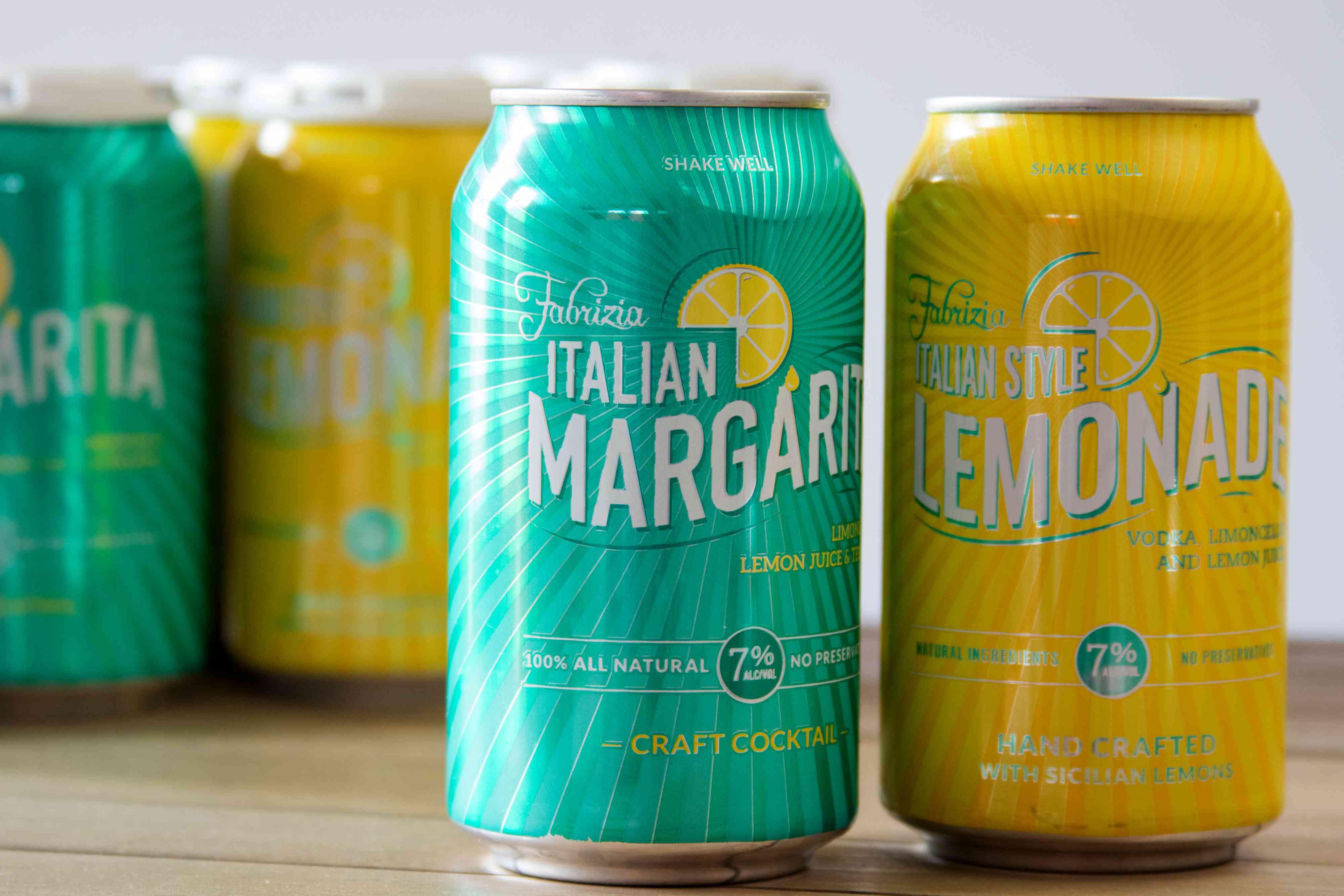 Fabrizia Spirits Italian Margarita and Lemonade