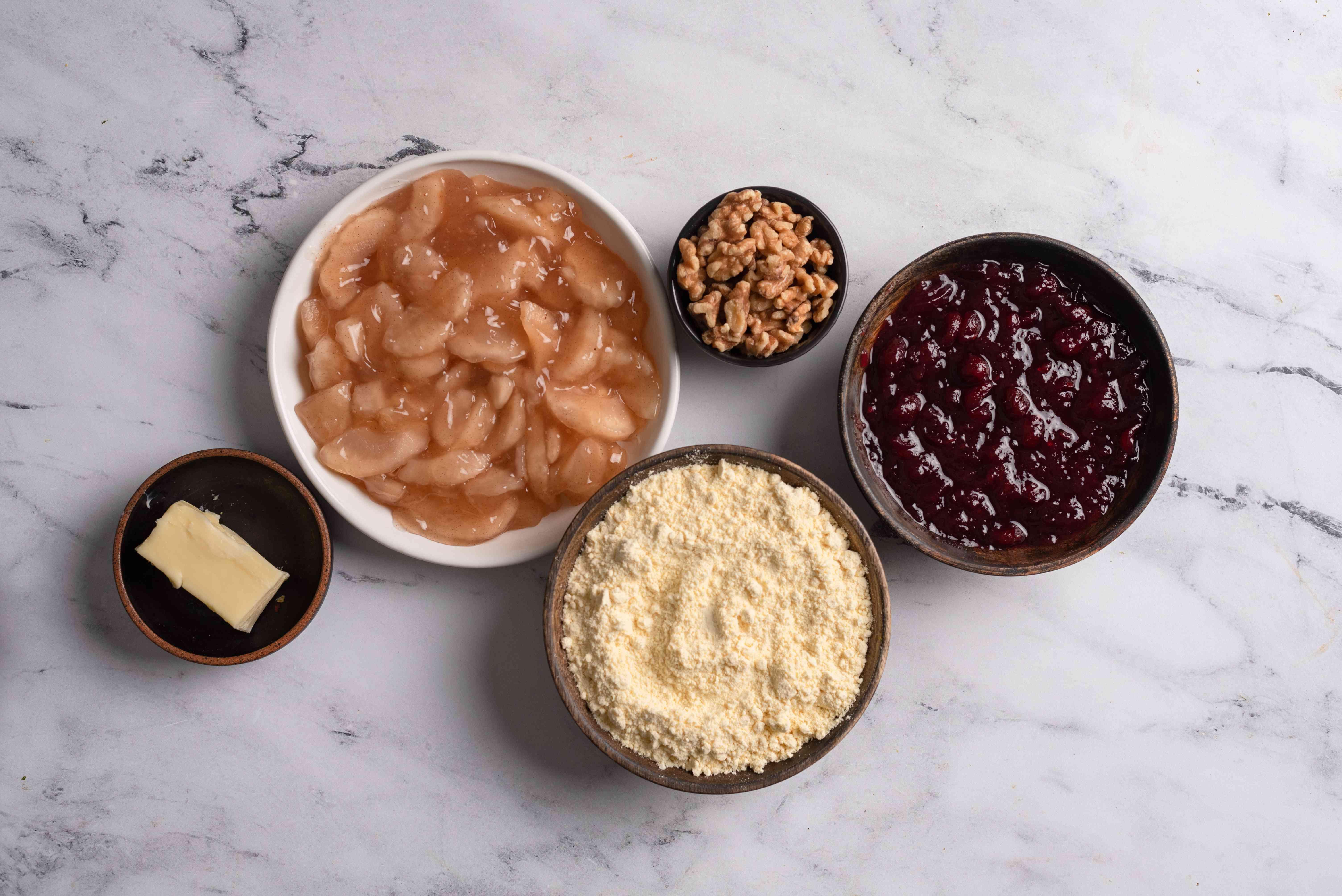 Christmas Dump Cake ingredients