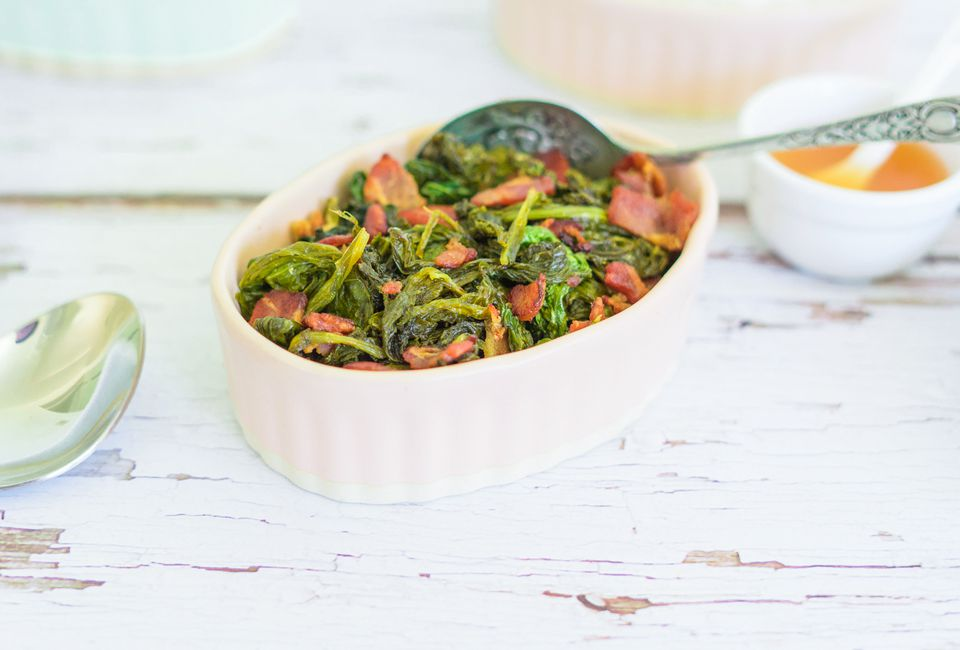 Basic Cooked Mustard Greens
