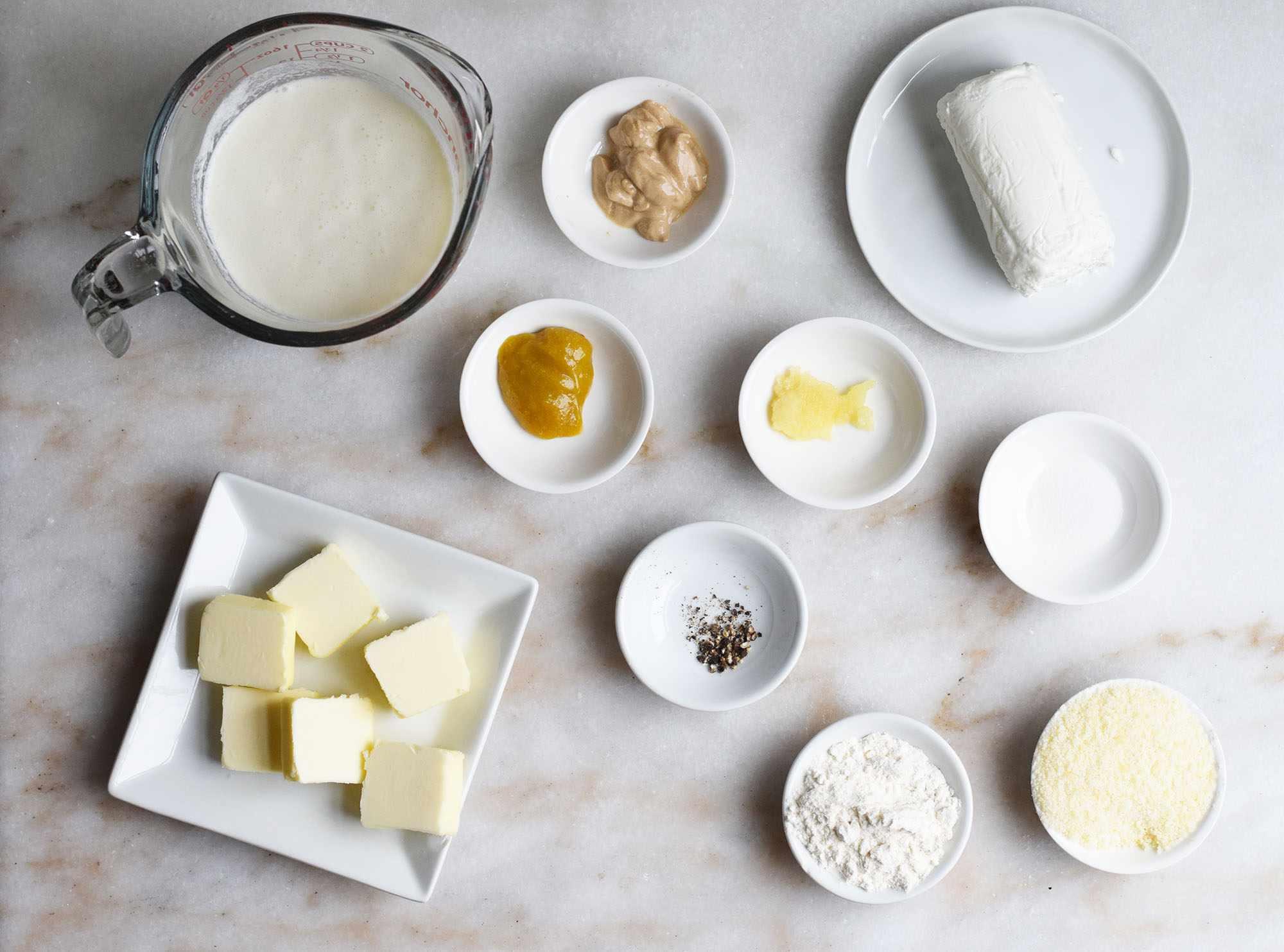 ingredients for chicken cordon bleu sauce