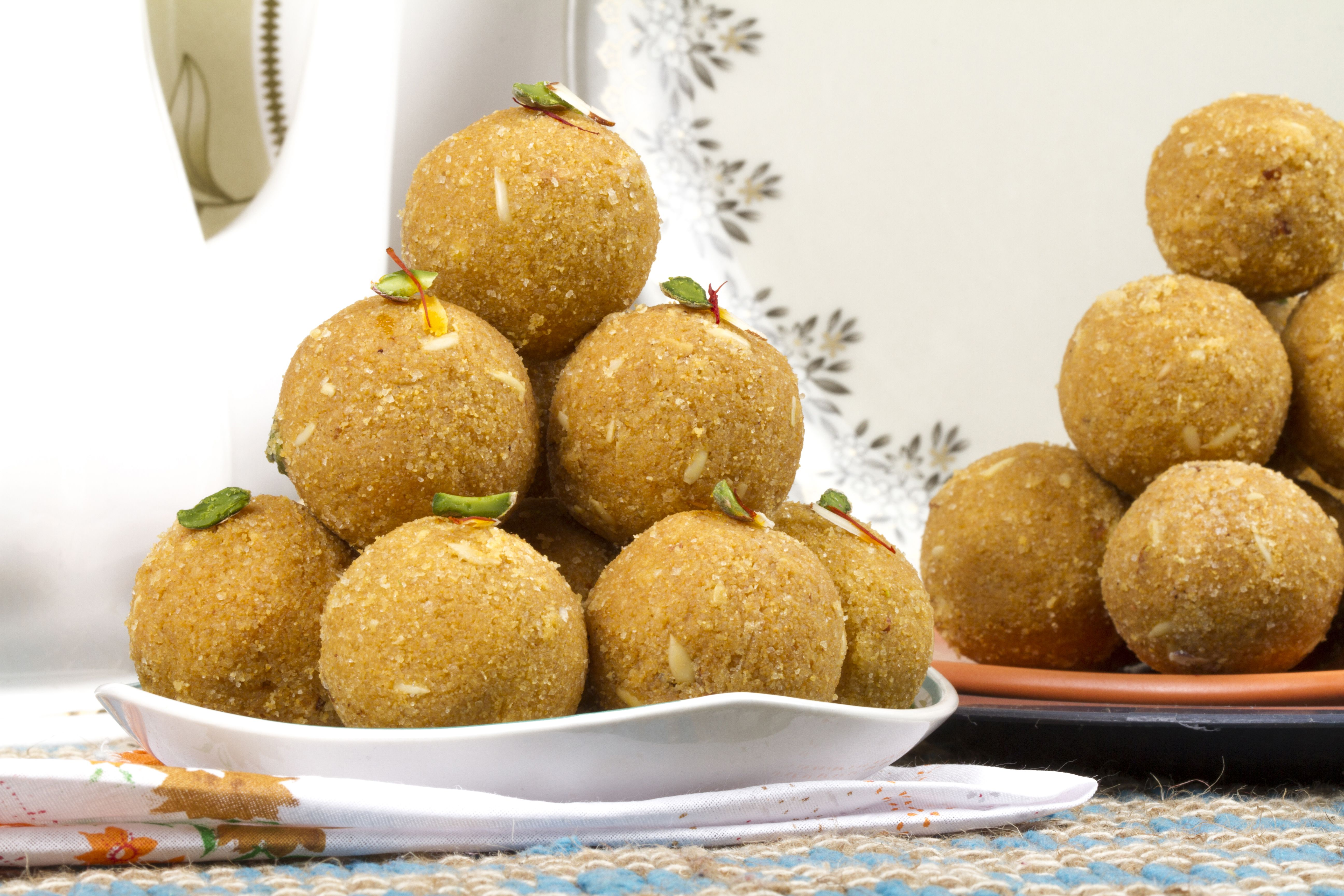 Besan Laddu sweet food