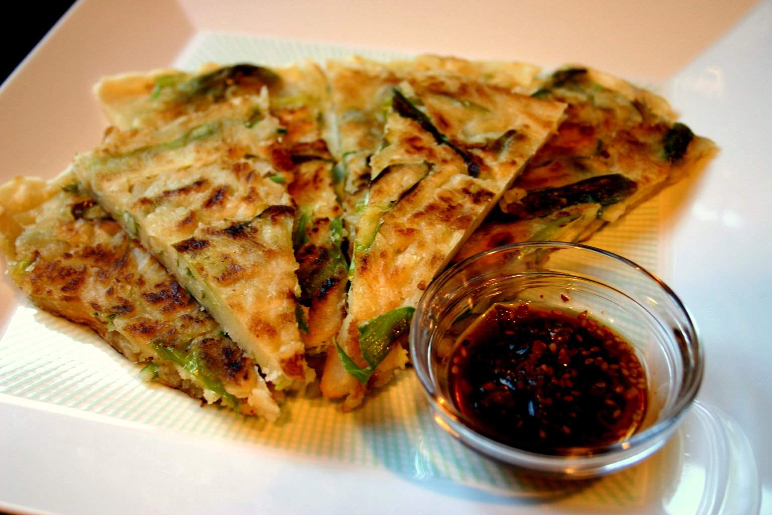 Korean Scallion Pancake (Pa Jun)