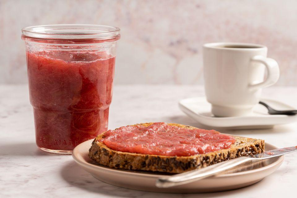 Rhubarb Freezer Jam