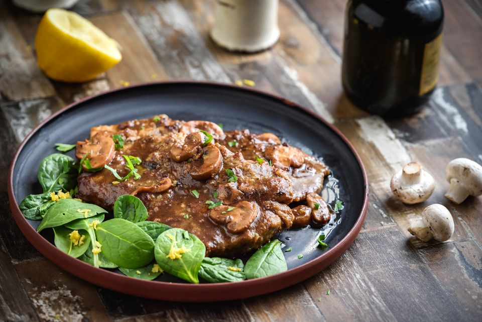 Veal Marsala With Mushrooms Recipe