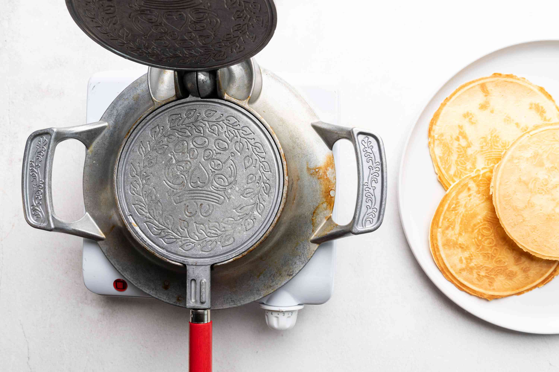 Polish Wafle Wafer Cookies