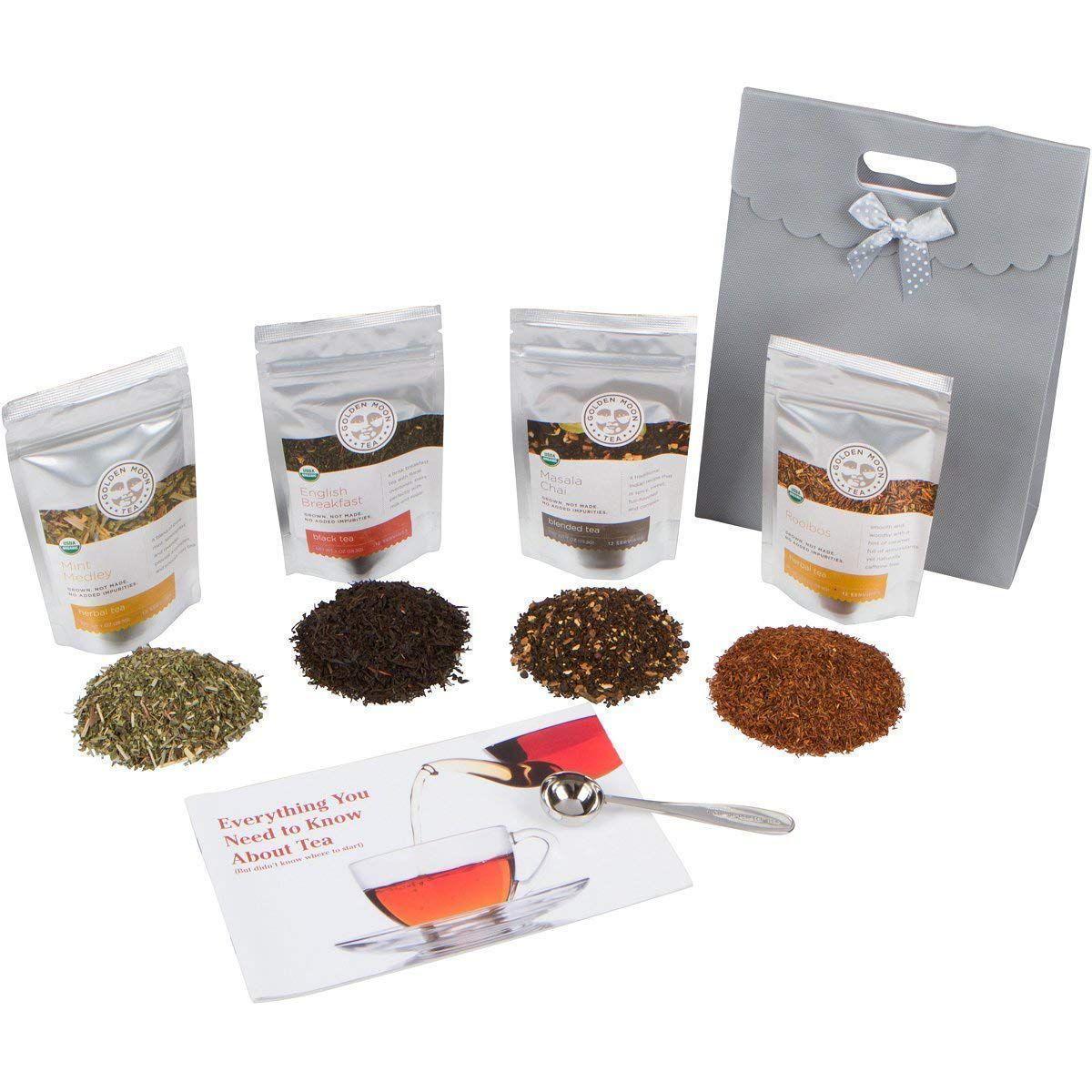 Golden Moon Tea Loose Leaf Tea Sampler