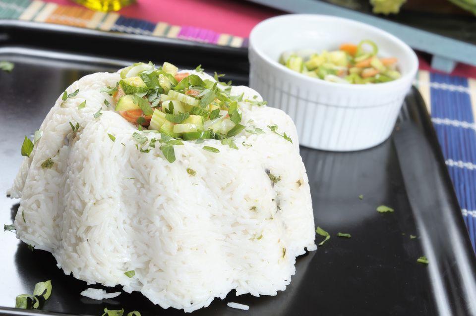 Pilaf de arroz sin gluten rápido y fácil