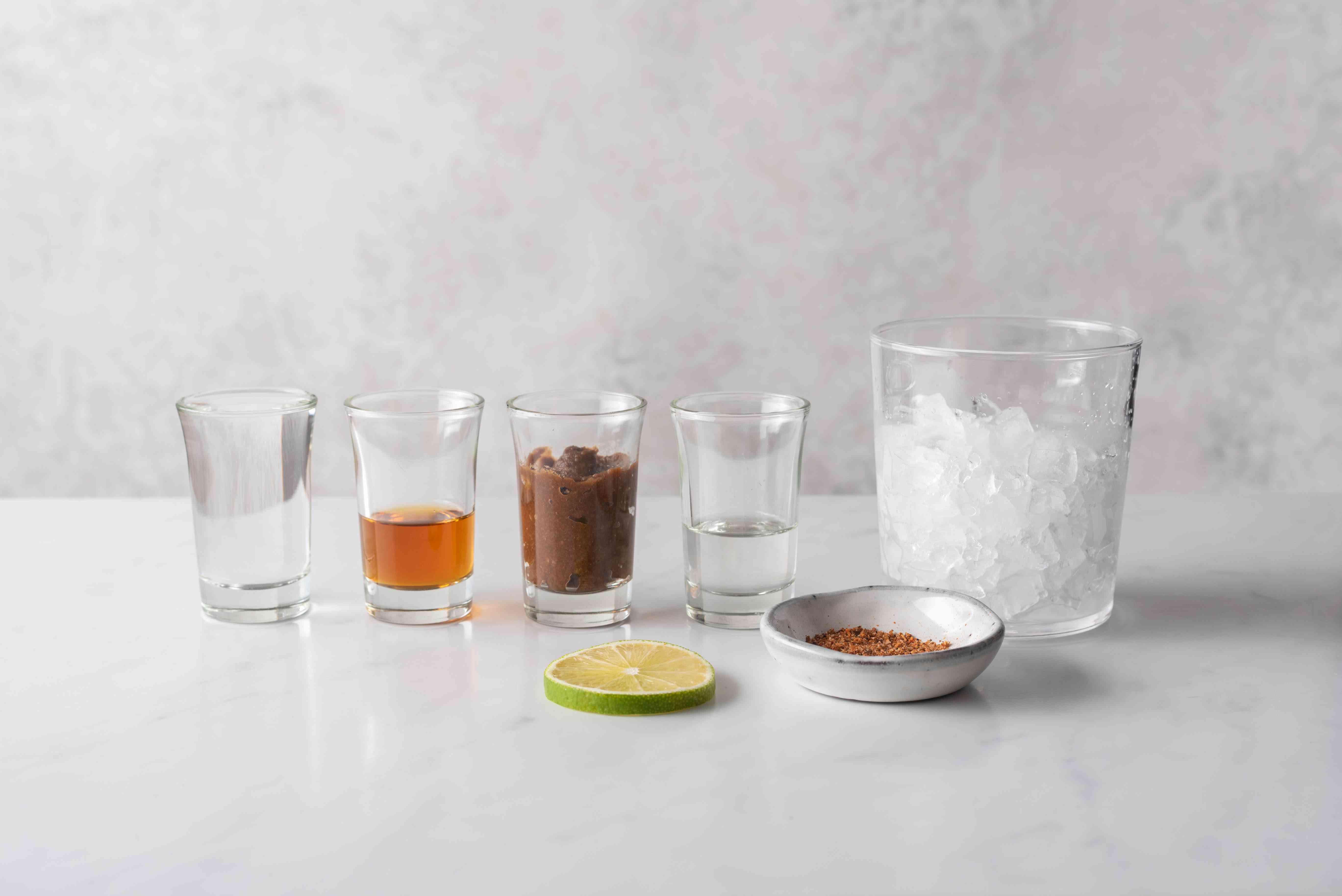 Tamarind Margarita ingredients