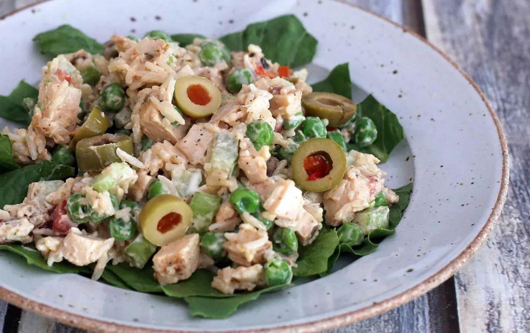 Chicken and Rice Salad Recipe