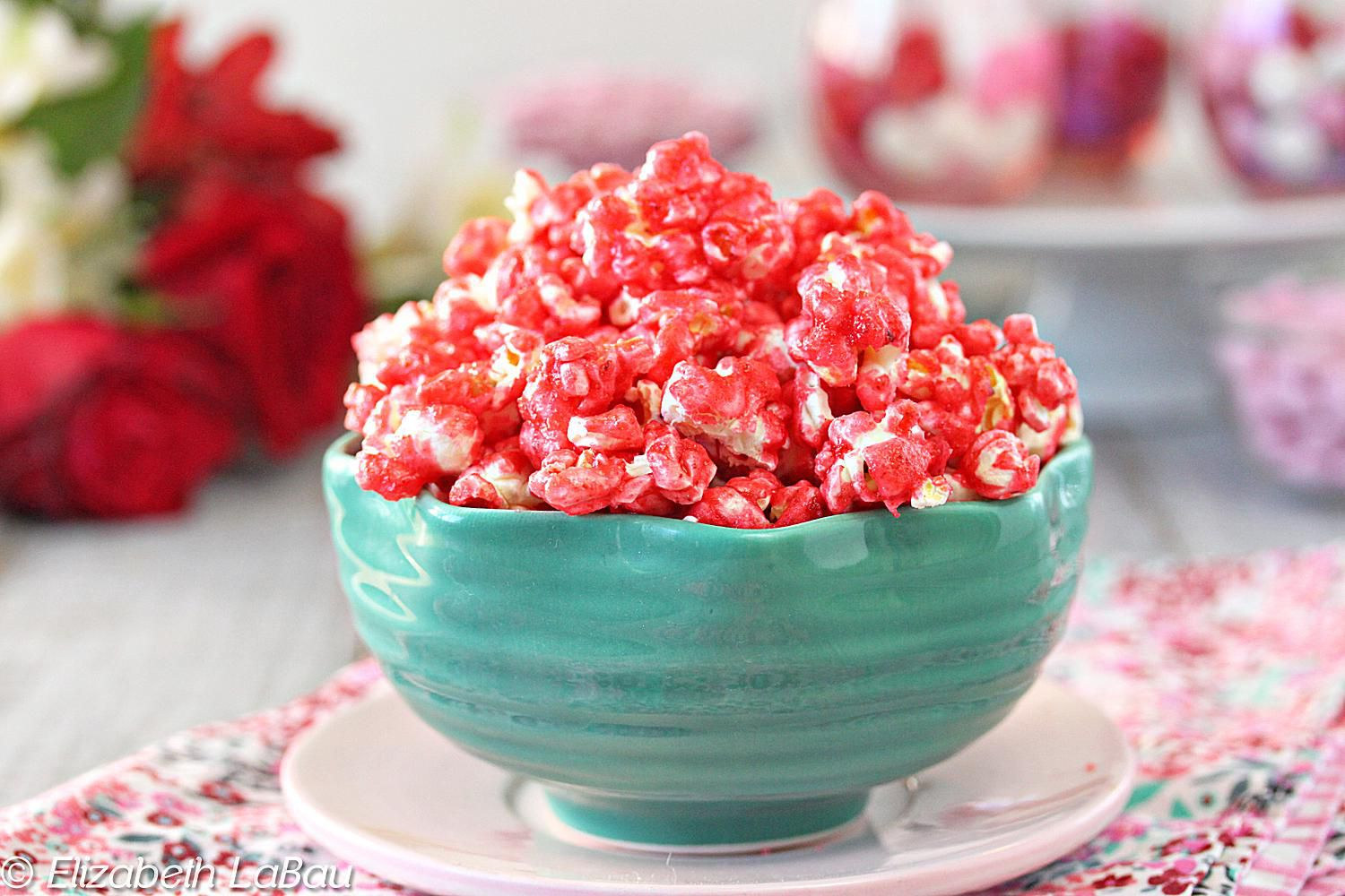 Crunchy Fruity Popcorn Made With Jell-O