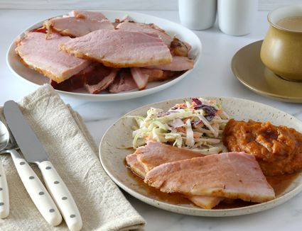 A ham dinner