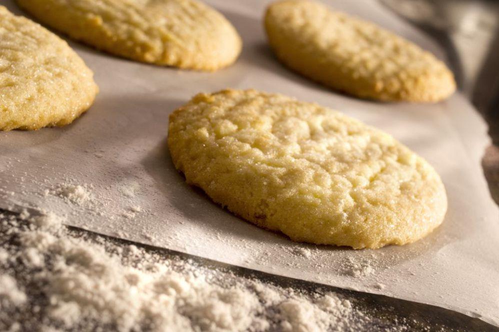 Vegan Lemon Sugar Cookie