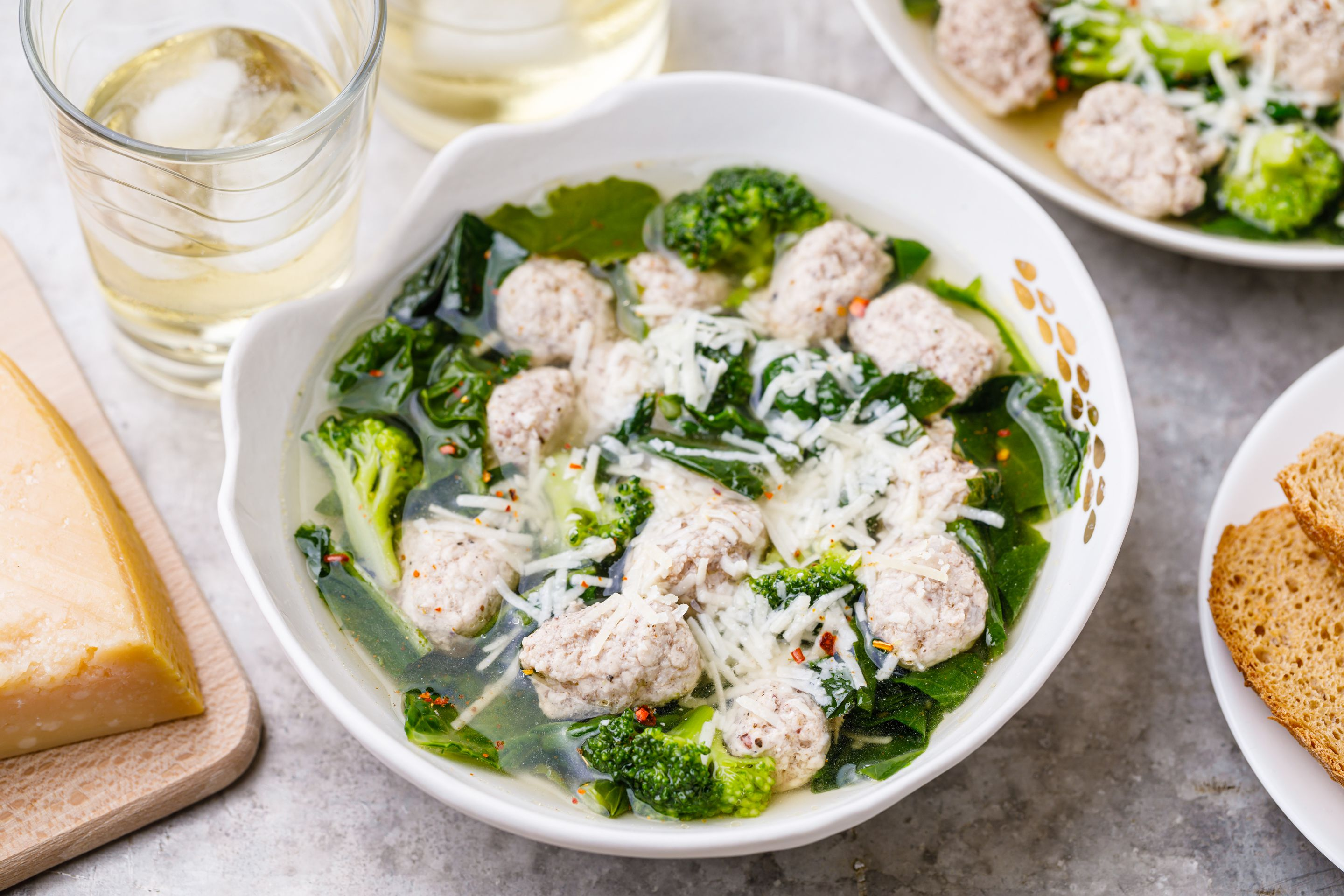 How to Make Italian Wedding Soup (Minestra Maritata)
